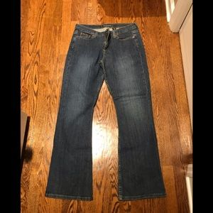 LIKE NEW DKNY Greenwich Boot Cut Jeans sz 12R